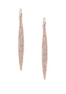 Vince Camuto Pavé Crystal Spear Drop Earrings