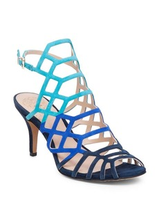 Vince Camuto Paxton Leather Cage Sandals