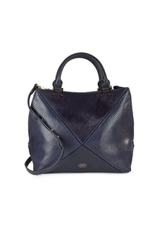 Vince Camuto Cow Hair & Leather Satchel
