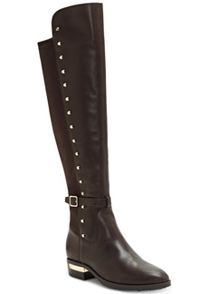 Vince Camuto Women's Pelda Studded Riding Boots Women's Shoes
