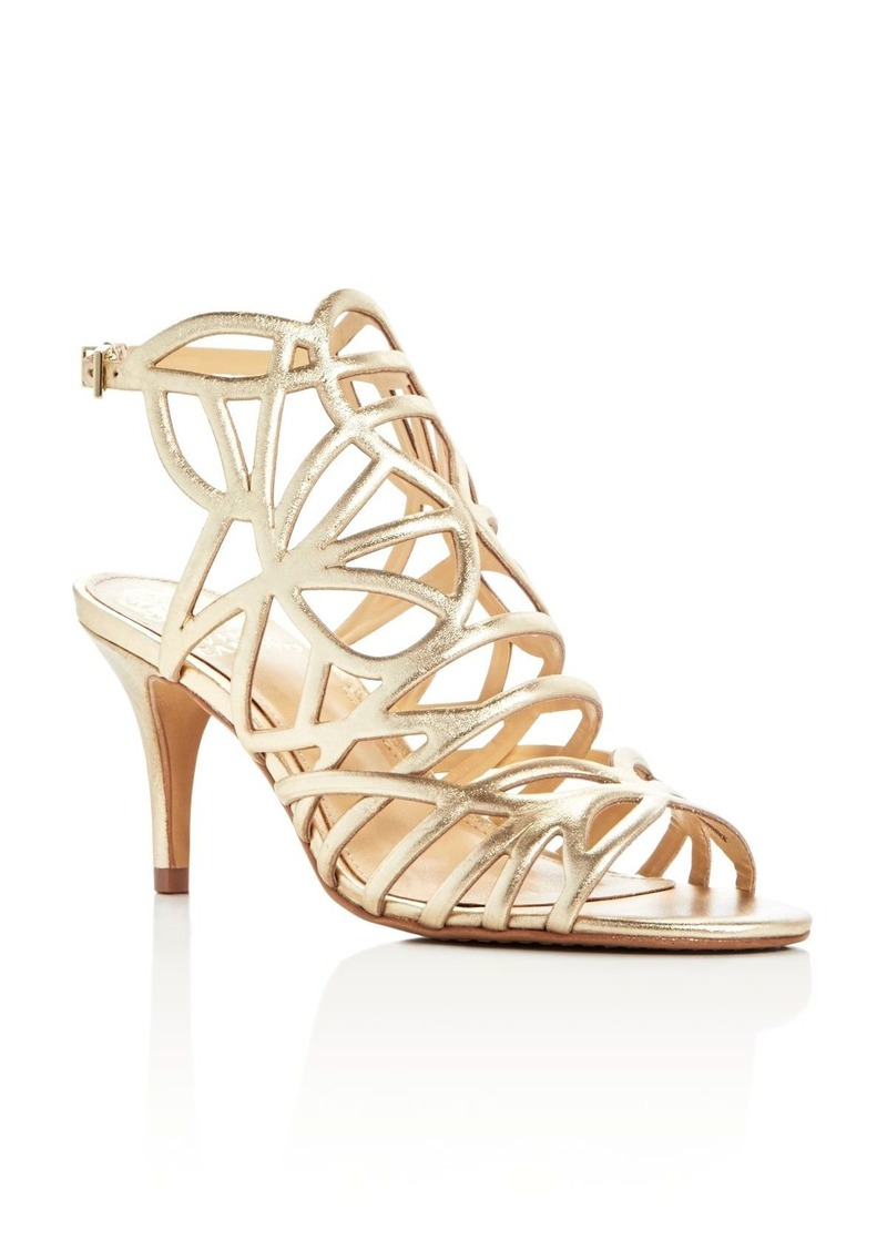 a33543aeb5f Vince Camuto VINCE CAMUTO Pelena Metallic Caged Sandals