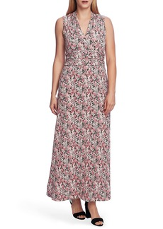 Vince Camuto Peony Fields Floral Maxi Dress