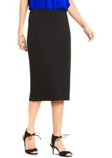Vince Camuto Petite Crepe Ponte-Knit Pencil Skirt