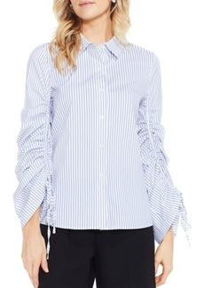 Vince Camuto Pinstripe Designed Blouse