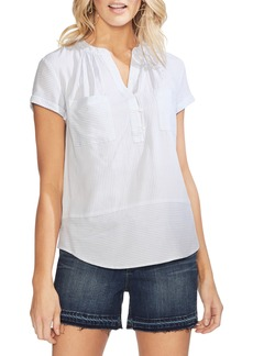 Vince Camuto Pinstripe Top