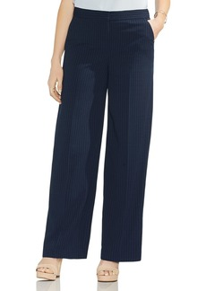 VINCE CAMUTO Pinstripe Wide Leg Pants