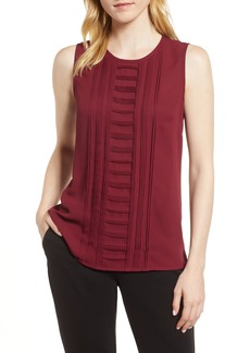 Vince Camuto Pintuck Detail Top (Regular & Petite)