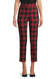 Vince Camuto Plaid Cropped Pants