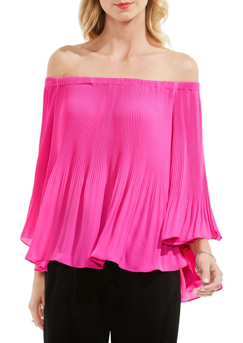36160e42a14a On Sale today! Vince Camuto Vince Camuto Pleat Off the Shoulder Blouse