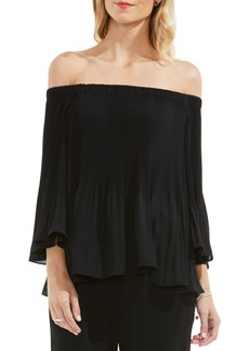 Vince Camuto Pleat Off the Shoulder Blouse