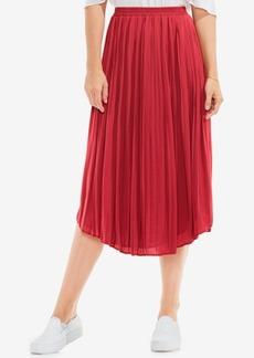 Vince Camuto Pleated Midi Skirt