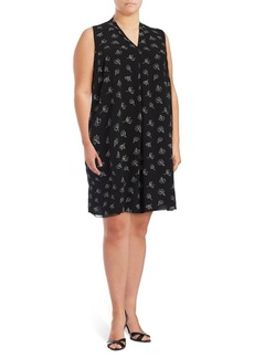 Vince Camuto Plus Printed Shift Dress