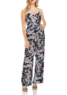VINCE CAMUTO Poetic Blooms Sleeveless Jumpsuit
