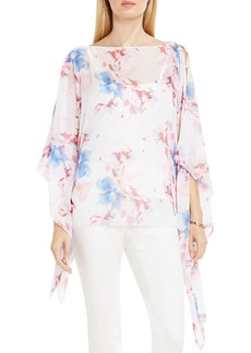 Vince Camuto Poetic Bouquet Poncho Top