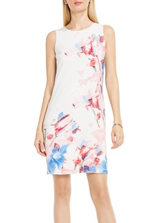 Vince Camuto Poetic Bouquet Shift Dress (Regular & Petite)