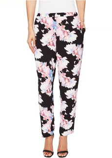 Poetic Bouquet Slim Leg Pull-On Pants
