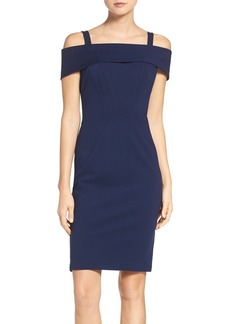 Vince Camuto Ponte Body-Con Dress