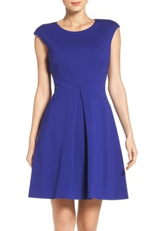Vince Camuto Ponte Fit & Flare Dress (Regular & Petite)
