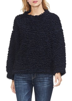 Vince Camuto Popcorn Eyelash Knit Top