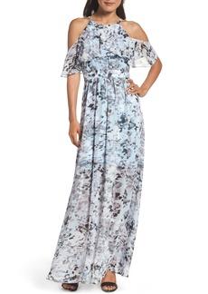 Vince Camuto Popover Maxi Dress (Regular & Petite)
