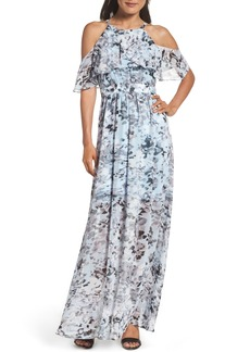 Vince Camuto Popover Maxi Dress (Regular & Petite)