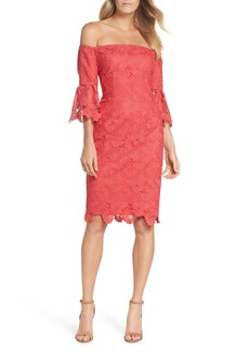 Vince Camuto Poppy Off the Shoulder Lace Dress
