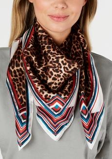 Vince Camuto Prairie Leopard Silk Square Scarf