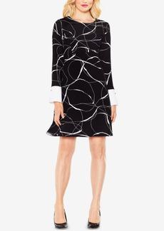 Vince Camuto Printed A-Line Dress