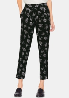 Vince Camuto Printed Cropped Ankle Pants