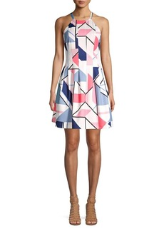 Vince Camuto Vince Camuto Women S Sleeveless Houndstooth