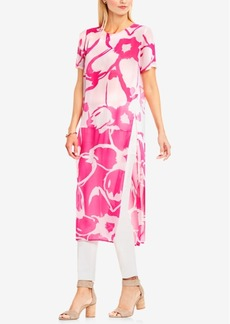 Vince Camuto Printed High-Low Tunic