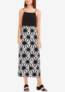 Vince Camuto Printed Maxi Dress