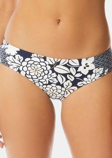 Vince Camuto Printed Shirred Bikini Bottoms Women's Swimsuit
