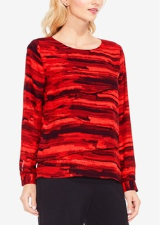 Vince Camuto Printed Top