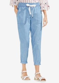 Vince Camuto Pull-On Chambray Pants