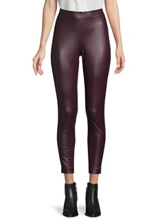 Vince Camuto Pull-On Leather Pants