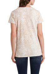 Vince Camuto Python Print T-Shirt