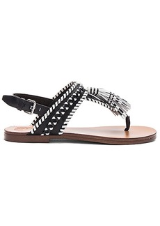 Vince Camuto Rebeka Sandal in Black & White. - size 8.5 (also in 9,9.5)