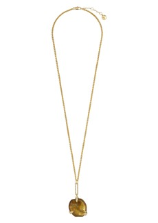 Vince Camuto Resin Pendant Necklace
