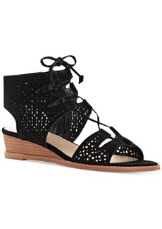 Vince Camuto Retana Lace-Up Demi-Wedge Sandals Women's Shoes