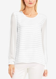 Vince Camuto Ribbon-Striped Blouse