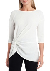 Vince Camuto Ruched Front Top
