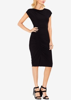 Vince Camuto Ruched Sheath Dress