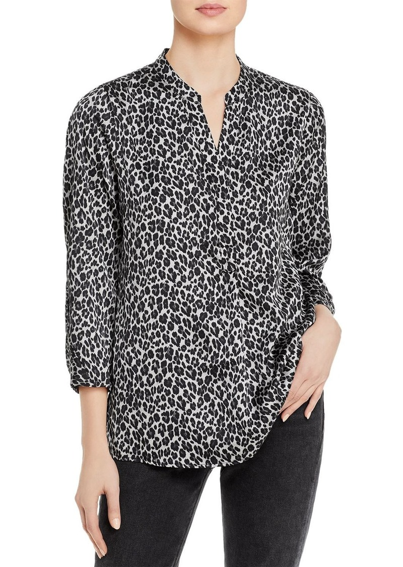 VINCE CAMUTO Ruched Sleeve Blouse