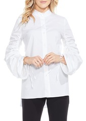 Vince Camuto Ruched Sleeve Shirt