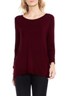 Vince Camuto Ruched Sleeve Top