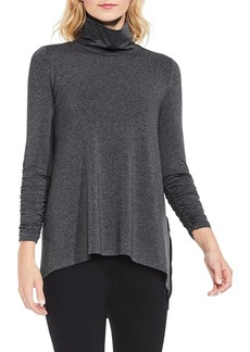 Vince Camuto Ruched Sleeve Turtleneck