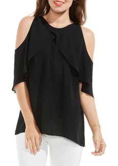 Vince Camuto Ruffle Cold Shoulder Blouse