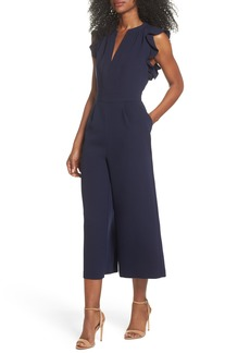 Vince Camuto Ruffle Culotte Jumpsuit