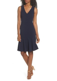 Vince Camuto Ruffle Hem Body-Con Dress